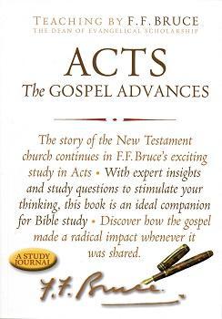 Acts - Gospel Advances (Study Journal)