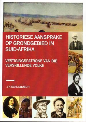 Historiese Aansprake op Grondgebied in SA