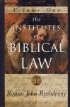 THE INSTITUTES OF BIBLICAL LAW - VOL.1