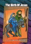 Birth of Jesus Colouring Book