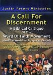 A CALL FOR DISCERNMENT DVD