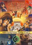 FRIENDS & HEROES EPISODES 14 & 15 - DVD
