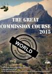 THE GREAT COMMISSION COURSE 2015