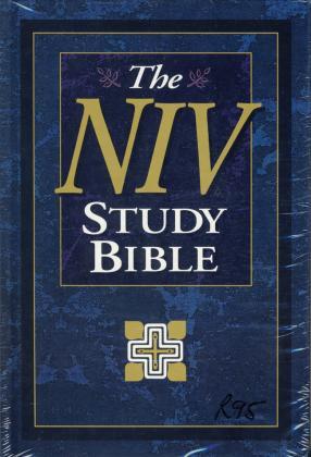 NIV STUDY BIBLE - HC