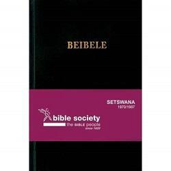 Bible - Setswana 1970 Std Blk HC