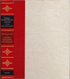 Thayer Greek-English Lexicon of NT