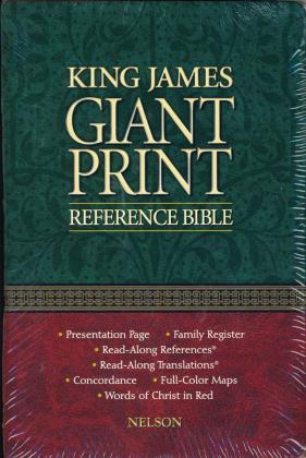 KJV GIANT PRINT REFERENCE BIBL