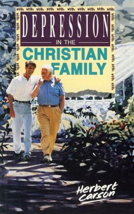 DEPRESSION IN THE CHRISTIAN FA