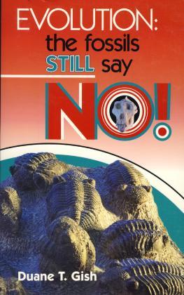 EVOLUTION: THE FOSSILS STILL S