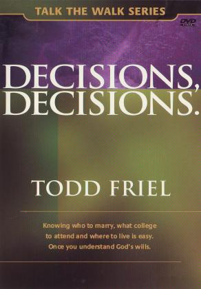 DECISIONS, DECISIONS - DVD
