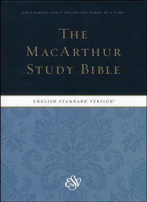 THE MACARTHUR STUDY BIBLE - ESV - HC