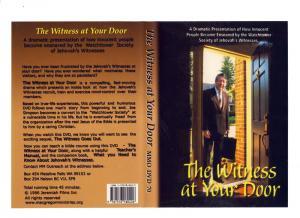 THE WITNESS AT YOUR DOOR - DVD