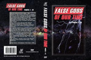 FALSE GODS OF THE TIME - PARTS 1 - 4  - DVD