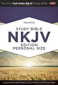 NKJV Holman Study Pers HC