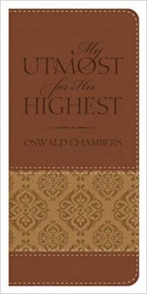 My Utmost for His Highest Vest pock ed