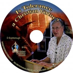 IS TOLERANCE A CHRISTIAN VIRTU