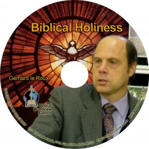 BIBLICAL HOLINESS CD
