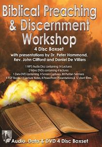 Biblical Preaching & Discernment workshop Boxset