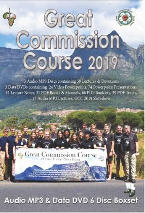 Great Commission Course 2019 Audio/Data 6 Disc Box