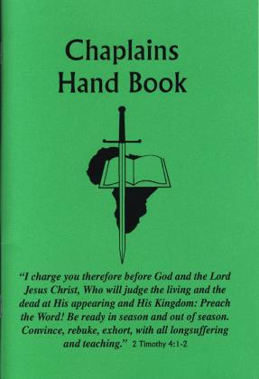 CHAPLAINS HAND BOOK