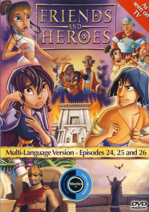 FRIENDS & HEROES EPISODES 24, 25 & 26 - DVD