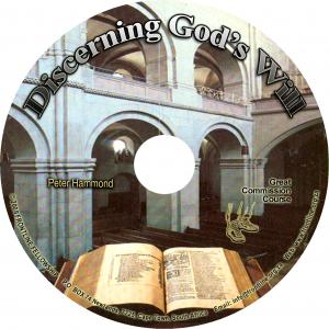 DISCERNING GOD'S WILL CD