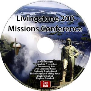 LIVINGSTONE 200 MISSIONS CONFERENCE - DATA DVD