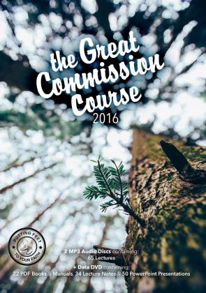 Great Commission Course  boxset 2016 Audio/Data