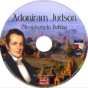 ADONIRAM JUDSON - MISSIONARY TO BURMA