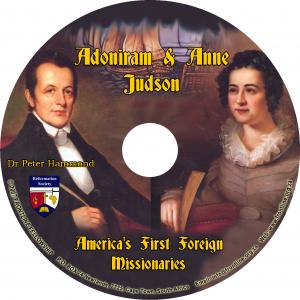 ADONIRAM & ANNE JUDSON CD
