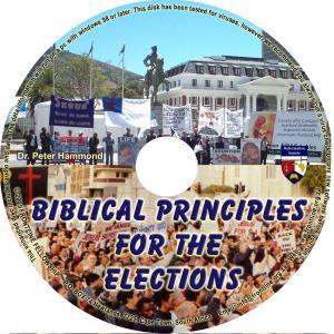 BIBLICAL PRINCIPLES FOR THE EL