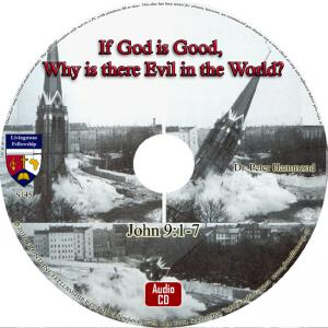 IF GOD IS GOOD, WHY IS THERE  EVIL IN THE WORLD? -