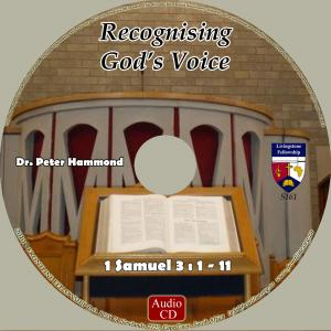 RECOGNISING GOD'S VOICE