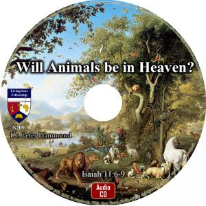 WILL ANIMALS BE IN HEAVEN?