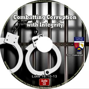 COMBATTING CORRUPTION WITH INTEGRITY