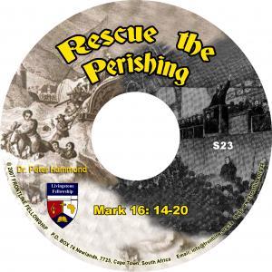 RESCUE THE PERISHING CD