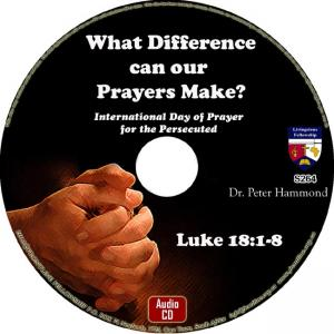 WHAT A DIFFERENCE CAN OUR PRAYER MAKE?