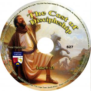 THE COST OF DISCIPLESHIP - CD