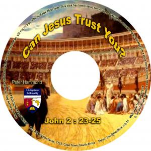 CAN JESUS TRUST YOU? CD