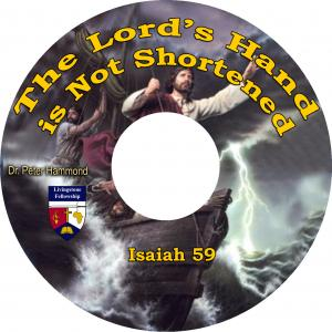 THE LORD'S HAND IS NOT SHORTEN