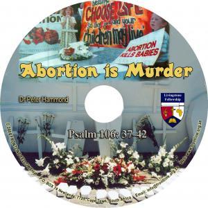 ABORTION IS MURDER CD