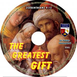 THE GREATEST GIFT - CD