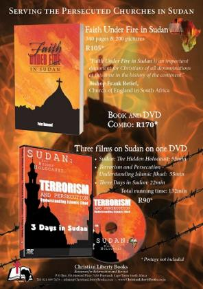 Faith Under Fire in Sudan & 3 Films combo