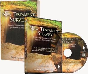 New Testament Survey Book and MP3 Combo