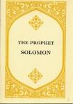 Prophet Solomon, The