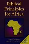 BIBLICAL PRINCIPLES for AFRICA 1st Ed