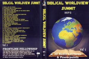 BIBLICAL WORLDVIEW MP3 VOL 1
