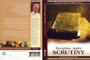 SCRIPTURE UNDER SCRUTINY - DVD