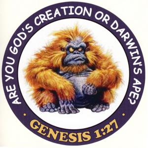 ARE YOU GOD'S CREATION OR DARWIN'S APE?